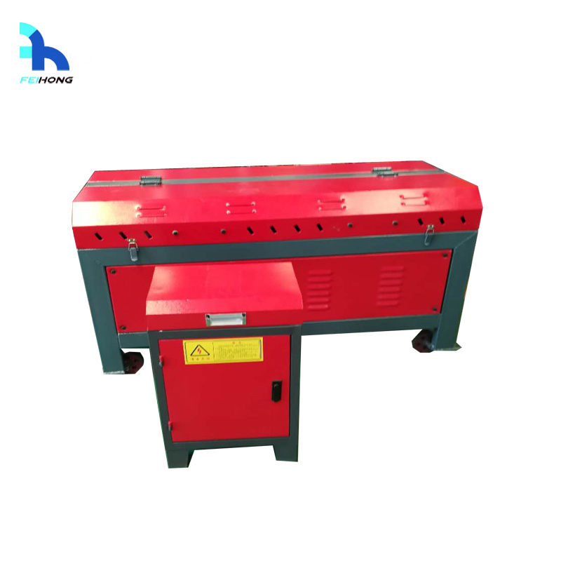 Small type steel straightening and cutting machine