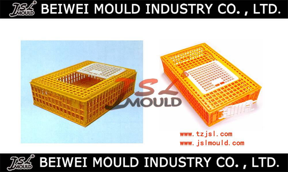 Customized plastic chicken cage mould pets cage mould with two doors