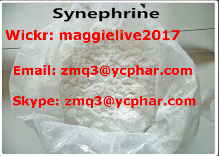 Anti Obesity Weight Loss Steroids Powder Synephrine , White Crystals Powder