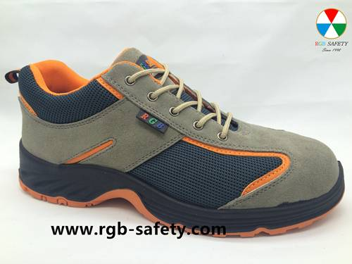 Low Cut Steel toe Safety Trainer Slip Resistant Work Shoes for men SF-104