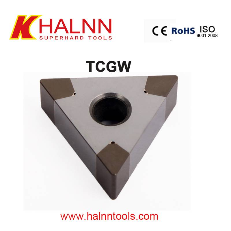Hard turning bearing rings used Halnn BN-H20 hard turning inserts