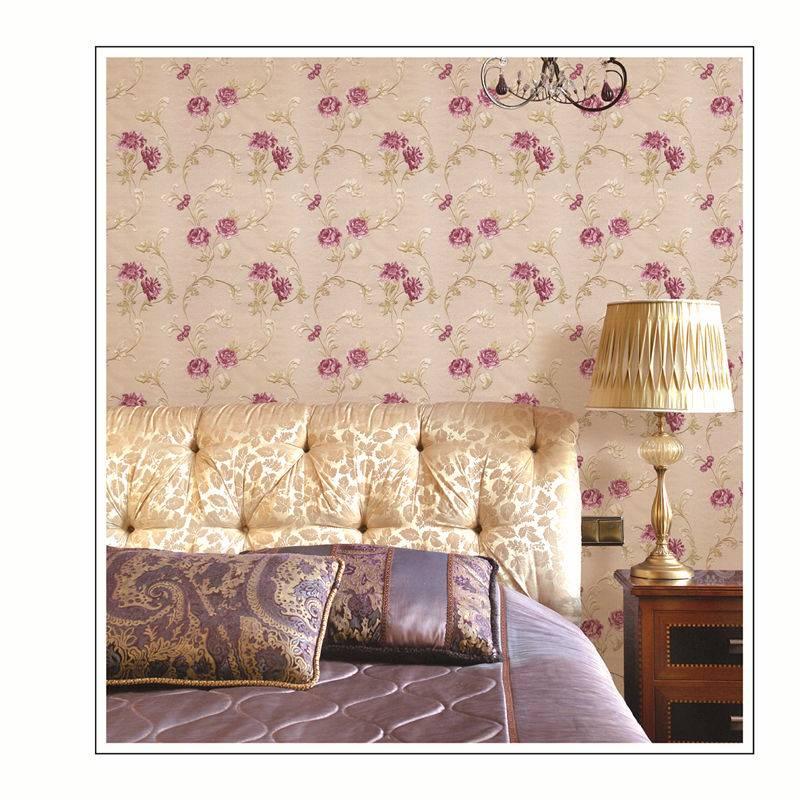 PVC deep embossed wallpaper