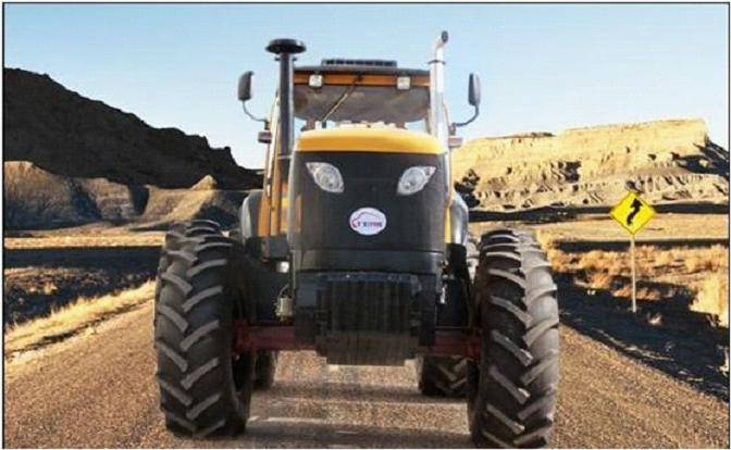 High horsepower tractor TK1504