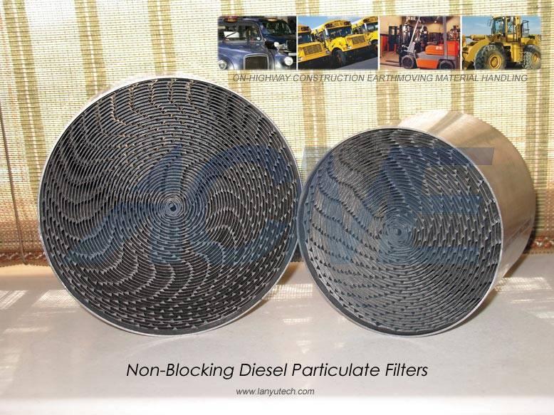 Partial Flow Diesel Particulate Filters
