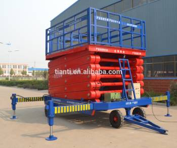 4M manual hydraulic Motorcycle pneumatic lift