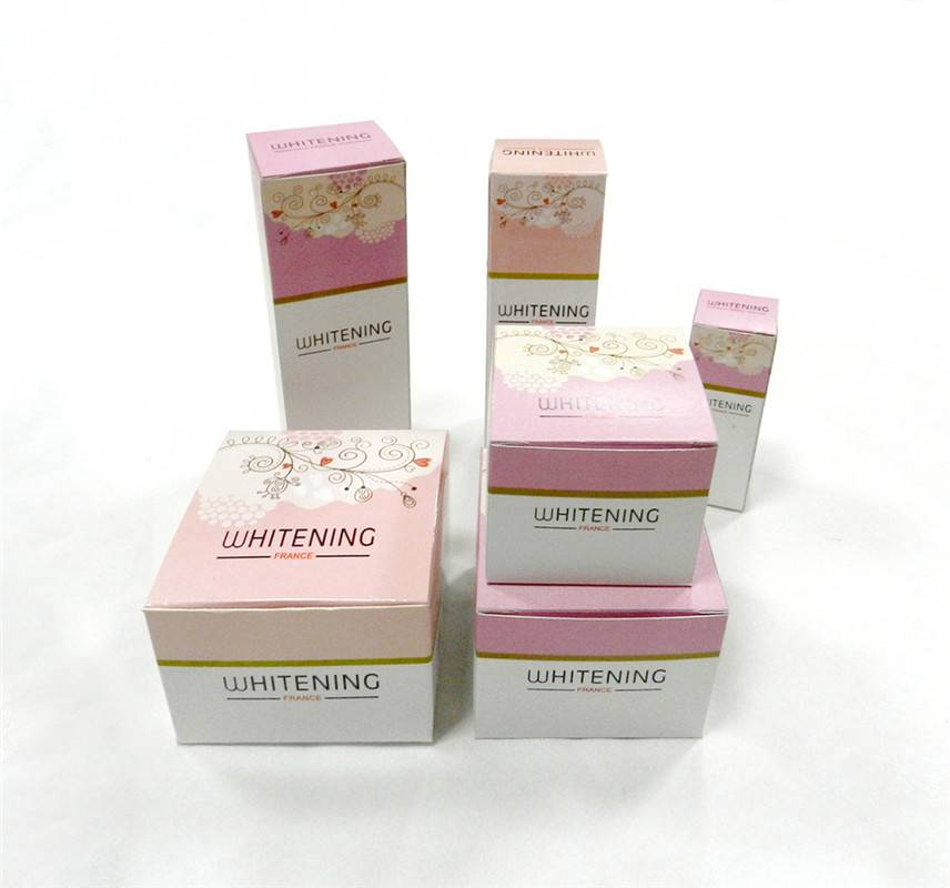 Customized High Quality Embossing Paper Box For Cosmetics Productgh Quality Toiletries/Top quality