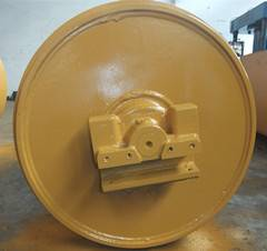 John Deere 450H idler for bulldozer undercarriage