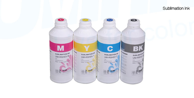 High quality sublimation ink for Epson/ Mimaki/ Roland/ Mutoh