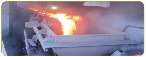 CE certificate solid woven flame resistant conveyor belt