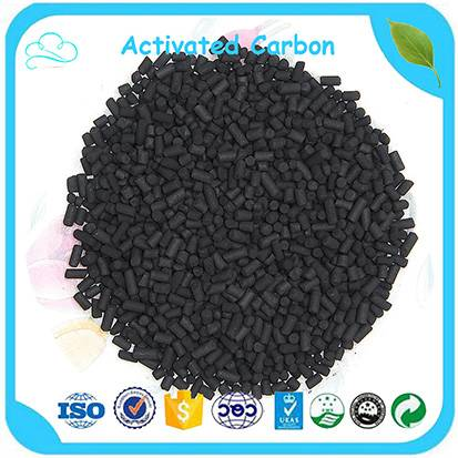 Low Price CTC 60 Pellet Activated Carbon 4mm For Air Purification