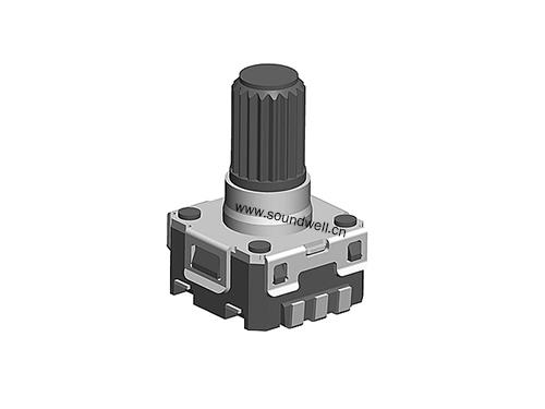 EC06 with push switch encoder