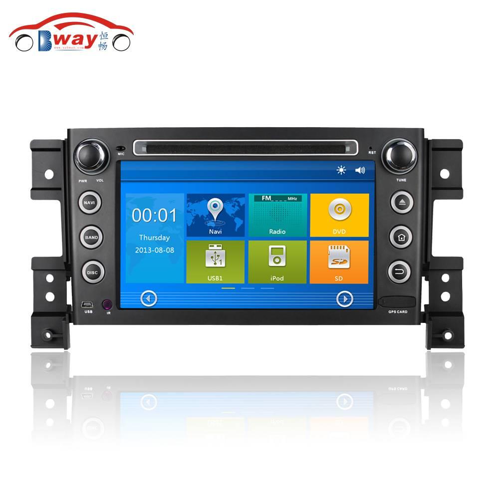 7 inch 256 MB RAM car radio for Suzuki Grand Vitara car dvd player with GPS,Radio,bluetooth,steering