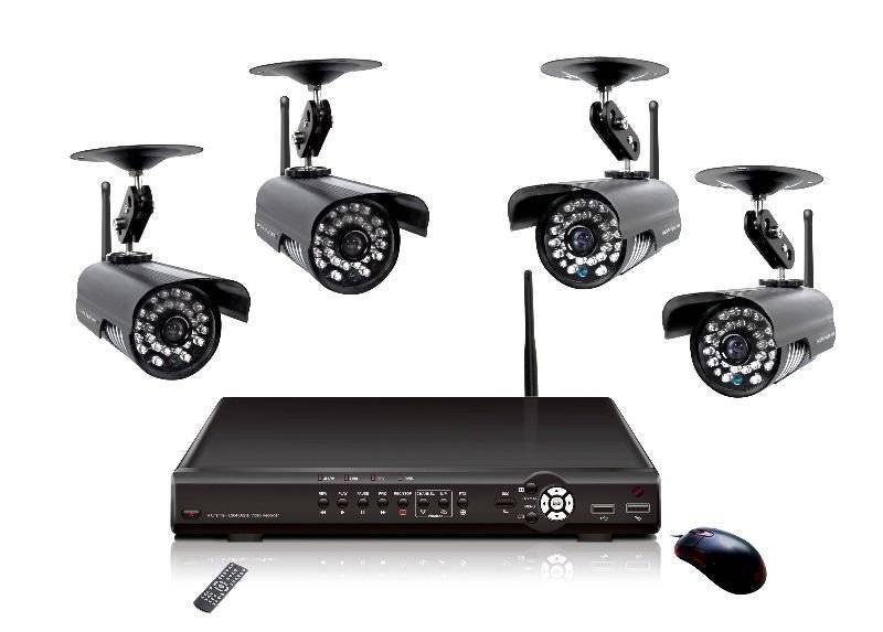 7 Channel Wired and Wireless Signal Input Multifunction CCTV Dvr Camera