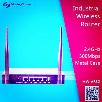 AR9344 2T2R MIMO 2.4GHz 500mW High Power Car wifi router for Commercial Applications