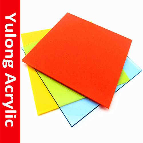 Hot sell 2mm color acrylic sheet