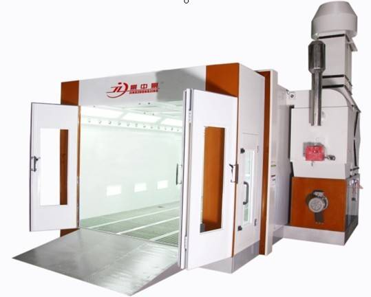 water based spray booth
