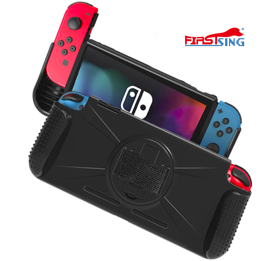 Firstsing Protective Game Controller TPU Case for Nintendo Switch console