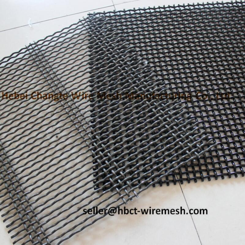 Wire Dia 0 . 3mm - 18mm Pre - Crimp Wire Mesh Heavy Duty Wire Mesh For Mine And Coal