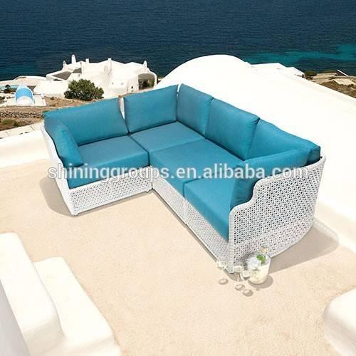Hot Sale Comfortable Hotel Lobby Rattan Sofa  C1123-3