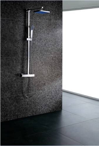 13010 Thermostatic shower & bath mixer