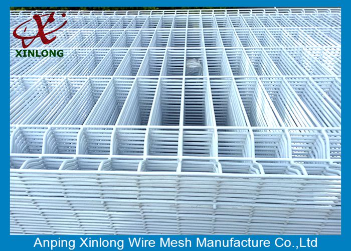 Railway Train Or Bus Station 4.5mm Powders Sprayed Coating 3D Wire Mesh Fence