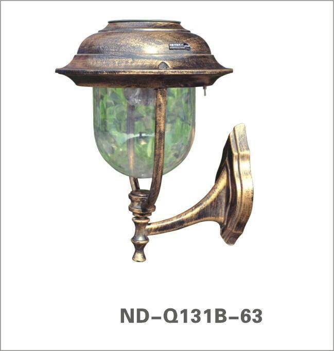 Solar mounted type wall lamp