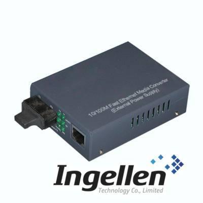 10/100M Fast Ethernet Media Converter-External Power Supply