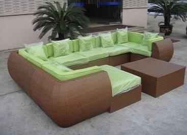 Patio leisure Cozy Rattan Sofa Sets