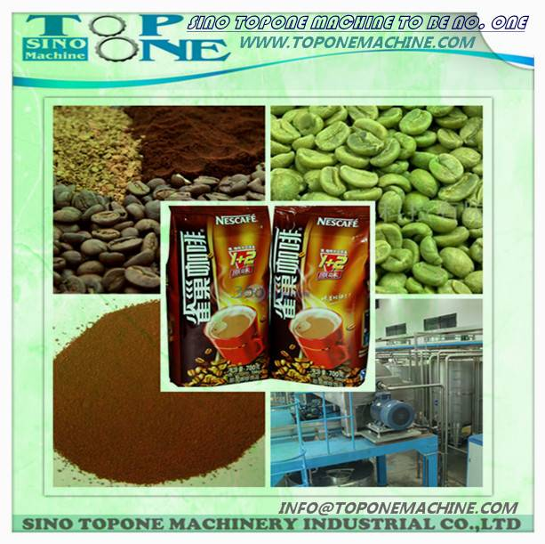 instant coffee production line