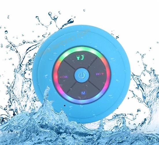 Wireless Bluetooth Waterproof Speaker with LED light