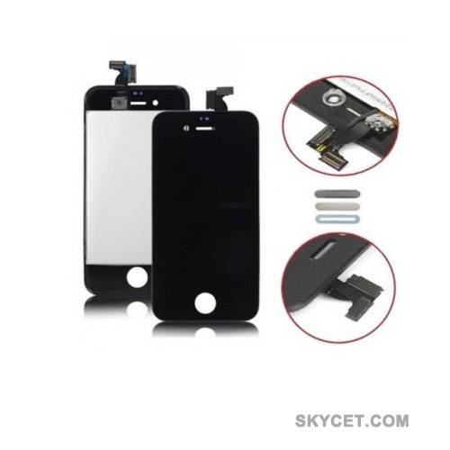 LCD Screens Digitizer Assembly For iPhone4S-Black-High Quality-Grade A