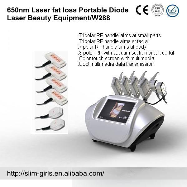 portable four headpiece lipo light laser liposuction fat reduce weight loss slimming beauty machine