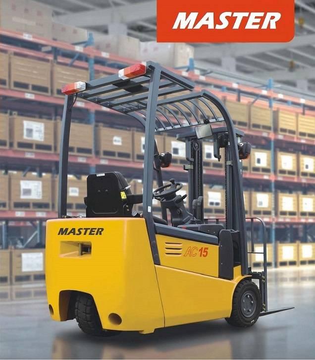 Master Forklift - 1.0-2.0 ton 3-Wheel Electric Forklift