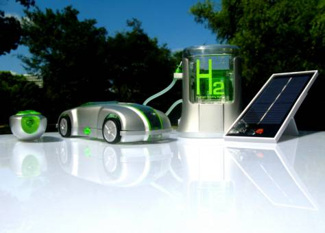 New Generation Hydrogen Fuel Cell Car