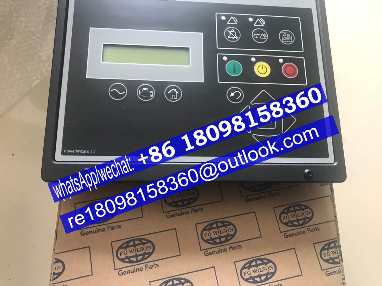 PowerWizard 1.0 / 2.0 Digital Control Panels /Providing safe control of generator set/ FG Wilson