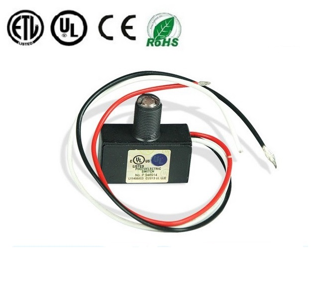 Dusk to Dawn Automatic Lighting Control Photoelectric Switch Mini Type