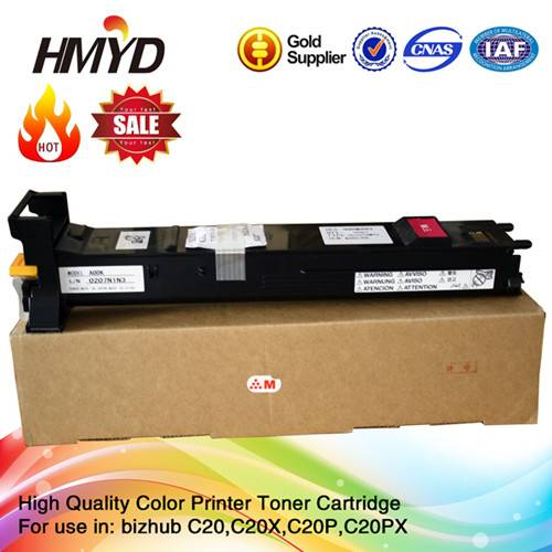 Compatible for Konica minolta bizhub C20 20 TN318 color laser toner kit