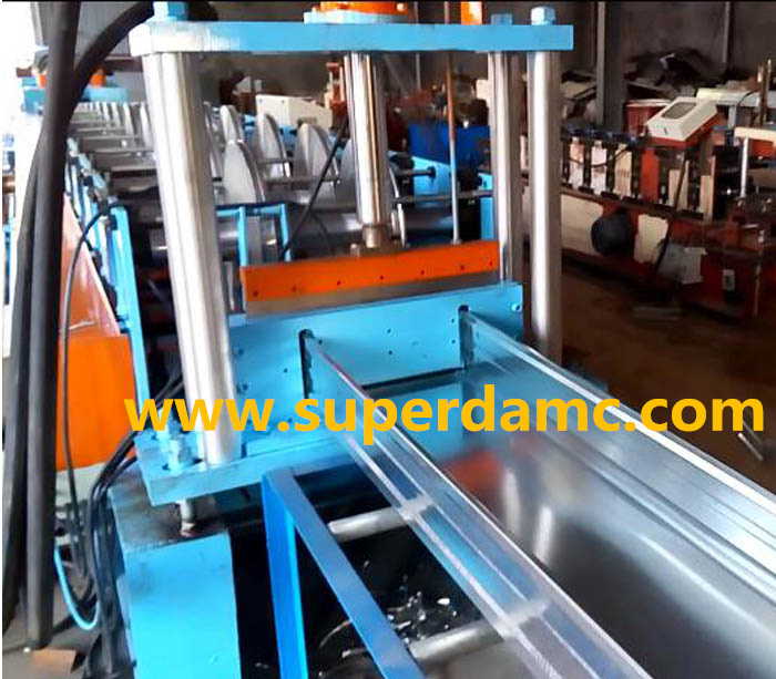 Superda cable tray roll forming machine manufacturer