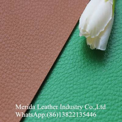 Color brilliancy and high quality embossed pattern leather belt material