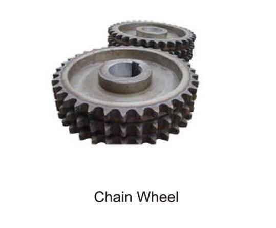 chain wheel of mixing plant