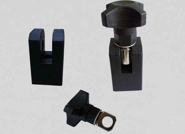 Conveyor components 12mm bore small plastic clamp connector