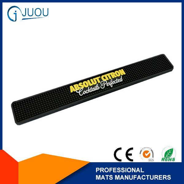 ABSOLUT CITRON Custom rubber bar counter mat