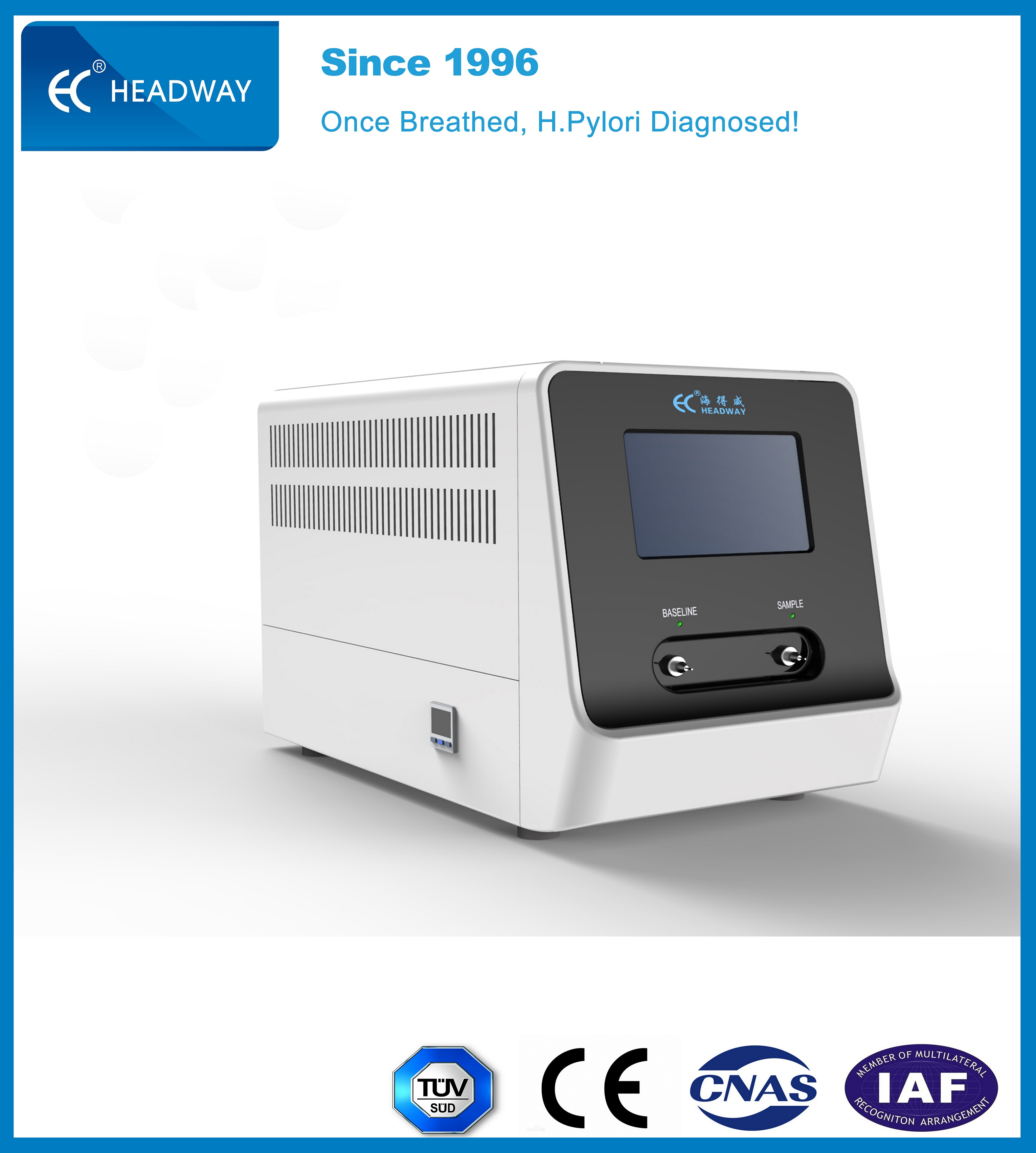 Urea Breath Test Analyzer HCBT-02