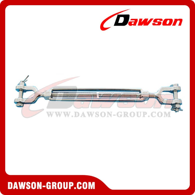 Stainless Steel US Type JAW & JAW Open Body Turnbuckle