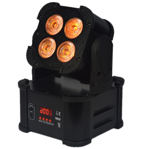 4X8 RGBW 4IN1 Battery Powered Wireless Light DMX LED Stage Light