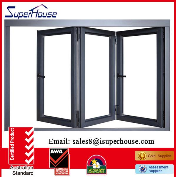 general aluminium bi-folding door for prefab house