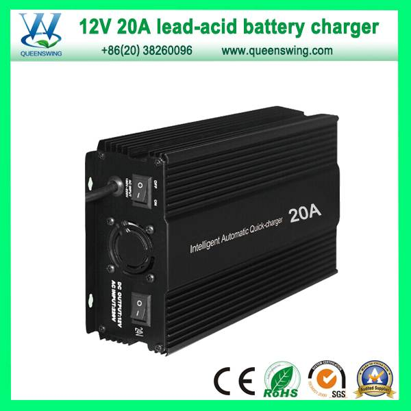 Intelligent 20A 12V (130A-400A) Lead Acid Battery Charger (QW-B20A)
