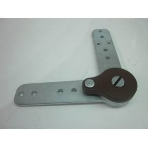Right angle hardware hinge for sofa bed fitting B033FT