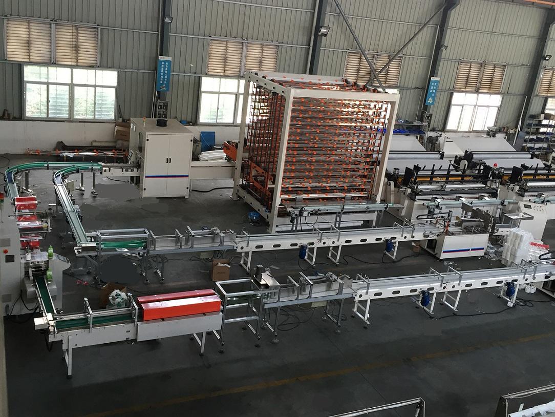 JY-JTZ-1575B Automatic Toilet Paper Production Line