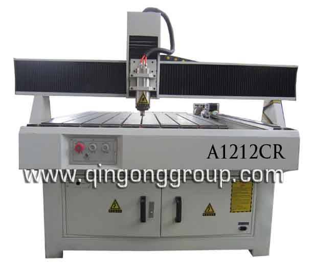 Advertising Use Name Plate Plastic Cutting CNC Router A1212CR